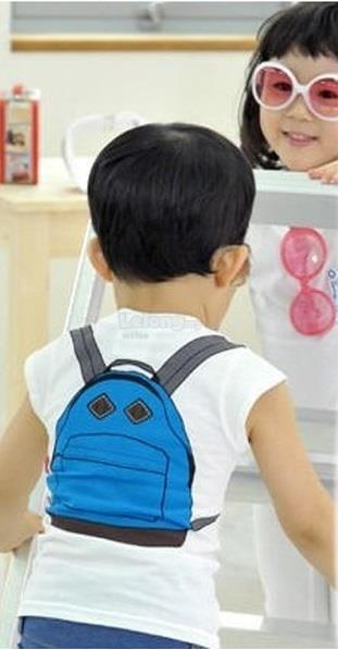 (WJ 0080) New Nissen Kids T Top (school bag)