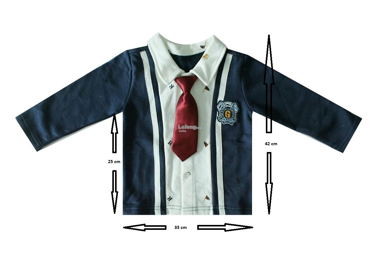 (WJ 0082) New G-Grand Kids Jacket With Tie