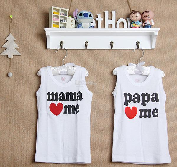 (WJ 0088) New Jewelry Baby Kids Singlets, Set In 2
