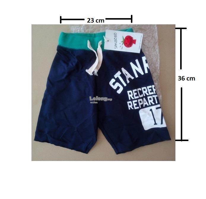 (WJ 0089) New Sanbobo Kids Short Pants