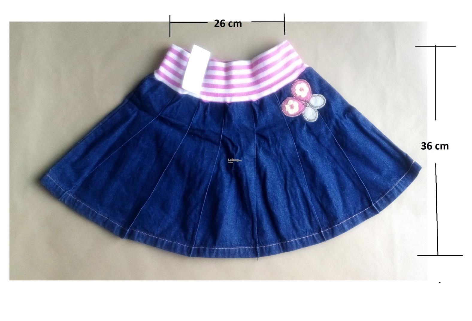 (WJ 0110)Cute Gal-Gal Jeans Skirt Shorts