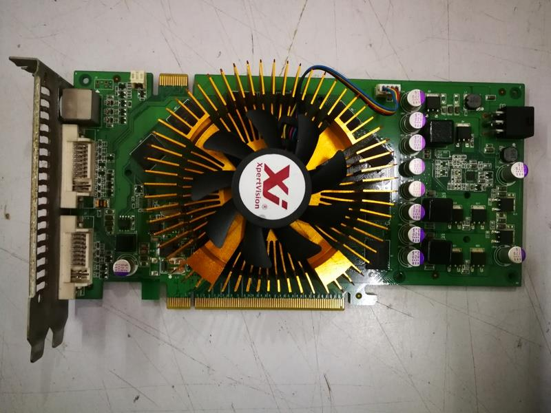 XpertVision Nvidia GeForce 9600GT 512MB DDR3 PCI-E Graphic Card 020318