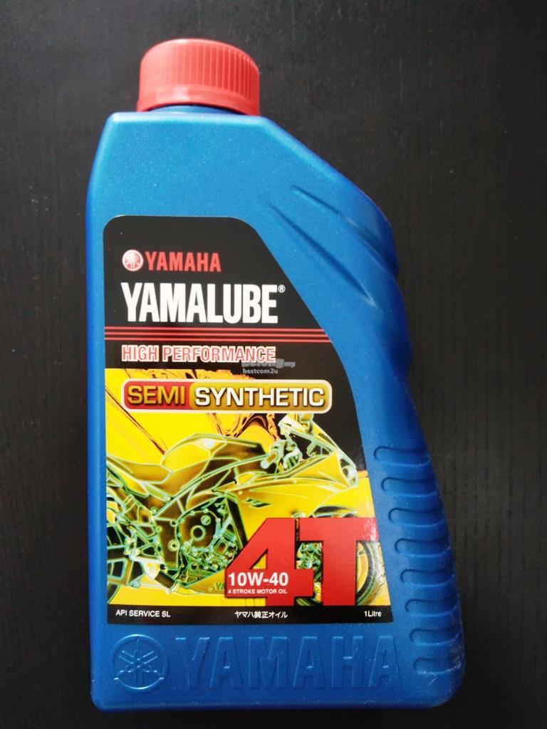 Semi Synthetic Oil >> Yamalube 4T Semi Synthetic 10W-40 1 (end 2/21/2018 1:15 PM)