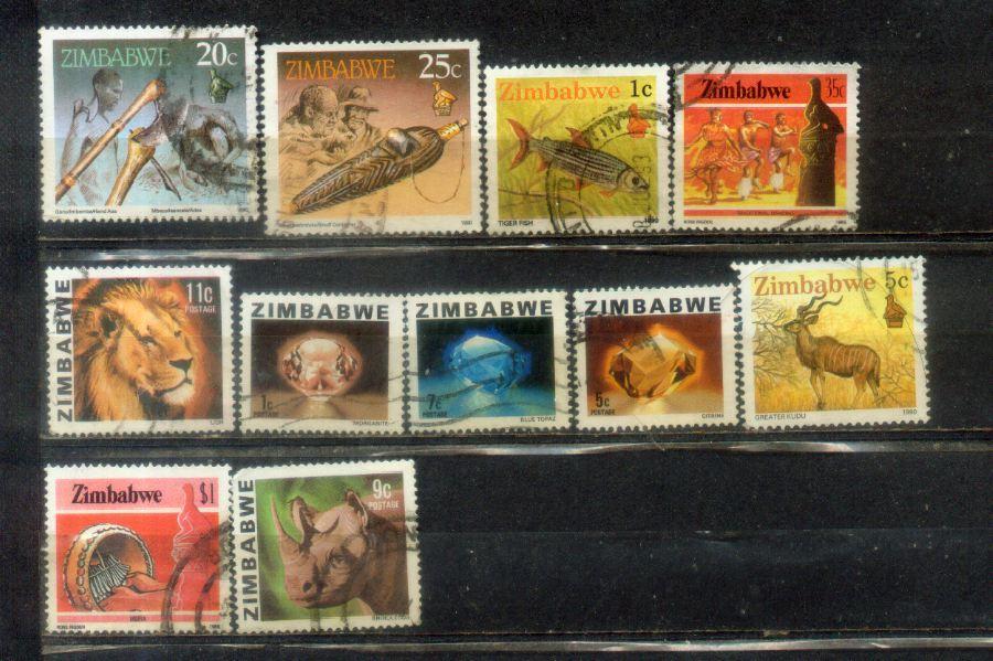 Zimbabwe Nice Stamps