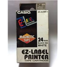 Genuine Casio Label Printer 24mm Magnetic Tape @ 2-Color Selection