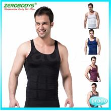 PRADO Men Body Shaper Vest Original Zerobodys Slimming Singlet S0001)