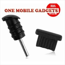 2 in 1 Dust Stopper for Samsung/ HTC/ LG/ Nokia/ Microusb Mobile Phone