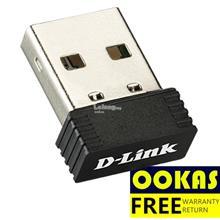 D-Link DWA-121 Pico Wireless N150 Nano Size USB WiFi Adapter