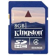 KINGSTON 8GB SD HC Memory Card DSLR NIKON CANON SONY DIGITAL CAMERA