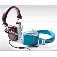 CLiPtec Stereo Headphone OZONE BMH880 with Premium Leather Iphone Ipad