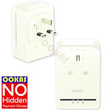 D-Link AV500 PowerLine Homeplug AC Pass Mini Adapter DHP-P309AV