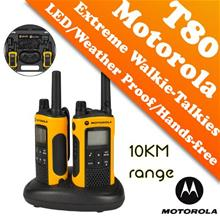 Motorola Extreme Walkie Talkie TLKR T80EX - 10KM (Sirim License Free)