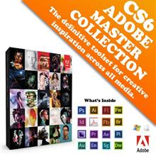 Adobe Creative Suite 6 Master Collection Full Pack (Retail)