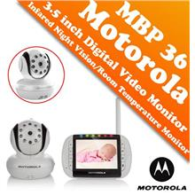 Motorola MBP36 3.5 inch Digital Video Baby Monitor (Color LCD Screen)