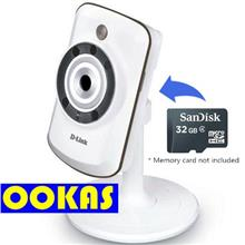 D-LINK DCS-942L Wireless N Day/Night SD Recording IP Cloud Camera CCTV