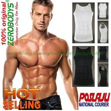 Zerobodys Mens Body Shaper Vest/ Mens Slim N Lift/ Bodyshaper)