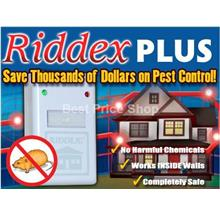 2016  2pcs Riddex Plus Digital Pest Repeller Insect Mosquito Mouse LED