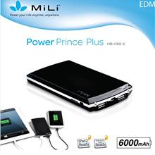 MiLi Power Prince Plus HB-C50-2 6000mAh Power Bank Charger