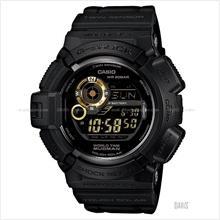 CASIO G-9300GB-1 G-SHOCK MUDMAN Garish Black resin strap black gold