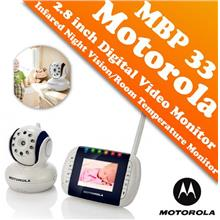 Motorola MBP33 2.8 inch Digital Video Baby Monitor (Color LCD Screen)