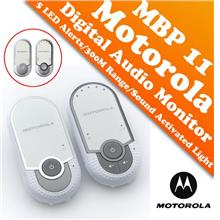 Motorola MBP11 Digital Audio Baby Monitor (High Sensitivity Mic)