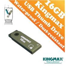 Kingmax PD-71 Metal Housing USB Drive(16GB) - Waterproof and Dustproof