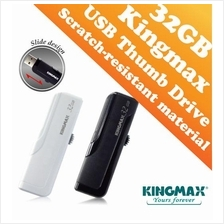 Kingmax PD-02 USB Drive (32GB) Slide Design - Black and White Color