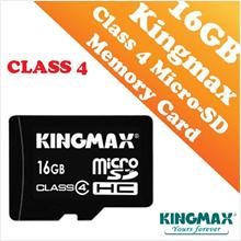 Kingmax 16GB CLASS 4 Micro-SD HC Card (Waterproof & Dustproof)