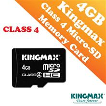 Kingmax 4GB CLASS 4 Micro-SD HC Card (Waterproof & Dustproof)