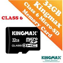 Kingmax 32GB CLASS 6 Micro-SD HC Card (Waterproof & Dustproof)