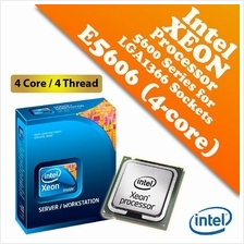 Intel Xeon Processor E5606 (2.13GHz,8MB Cache,4C/4T,LGA1366)