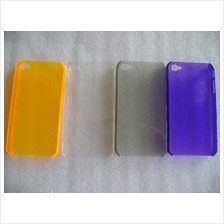 OEM Apple iPhone 4 Case Stylish / Crystal Clear with Color / SImple