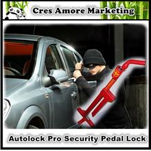 Original Unbreakable Autolock Pro #1640 Car Truck Van Pedal Lock