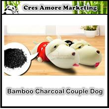 Bamboo Charcoal Couple Dog