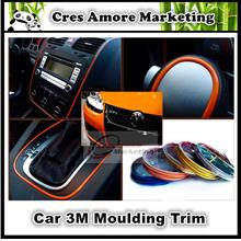 Free Gift +Original 3M Car moulding trim decorate line 11 color