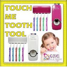 Touch me Automatic Toothpaste Dispenser + Toothbrush Holder (HL-0011)