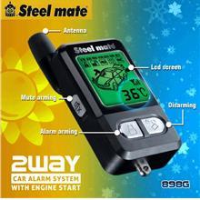 Steelmate 898G 2-Way Car Alarm w/Auto Start
