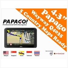 Q4035 4.3' GPS Navigator(Malaysia,Singapore,Thailand,Indonesia,Brunei)