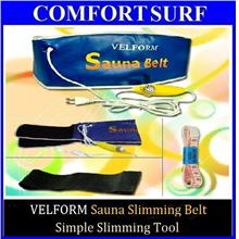 FREE 2 GIFT + VELFORM Tummy Sauna Slimming Belt Fat Burn Lose Weight