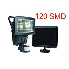 120 LED Motion Activated Solar Panel Security Automatic Light