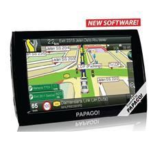 "Papago Z1 Plus - 5"" HD Screen GPS Navigator S1 Software + Free Gifts"