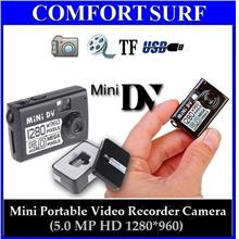 Mini Portable 5.0MP HD 1280*960 Video Recorder Pinhole Spy Camera