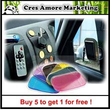 Buy 5 free 1 ! Car sticky pad Anti-Slip Mat