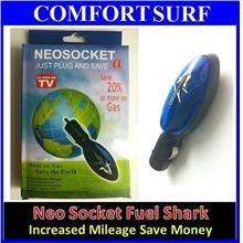 NEO SOCKET Fuel Saver NeoSocket Car Energy Fuel Shark + FREE GIFTS