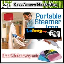 4 Free Gifts + Original Portable Steam Iron Inns Tobi Travel Steamer