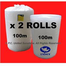 SPECIA PROMO PACK x 2 ROLLS BUBBLE WRAP GRADE A 1m x 100m L