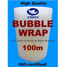 SPECIAL PROMO PACK BUBBLE WRAP GRADE A 1m x 100m Single Layer ISO-9001