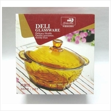 800ml Glass Bowl with Lid - TCEB1007PS
