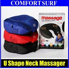 Offer Now!! Relax & Healthy Pillow U Neck Massager Music Travel Sleep
