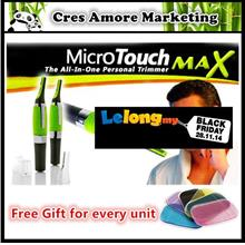 Free Gift+ 2 Battery+ Original Micro Touch Touches Max Trimmer